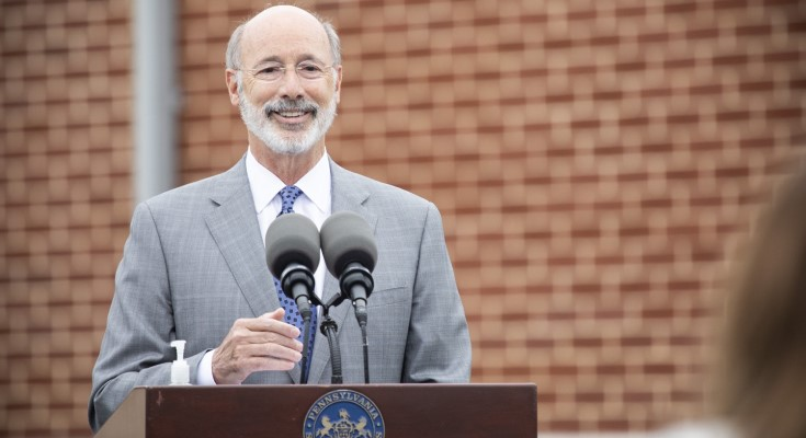 Governor Wolf Discusses COVID-19 Mitigation and Government Reform