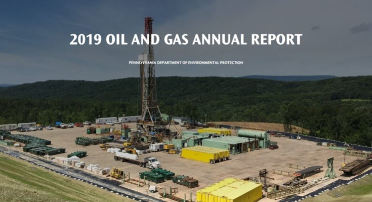 Natural Gas Production in Pennsylvania Increased in 2019