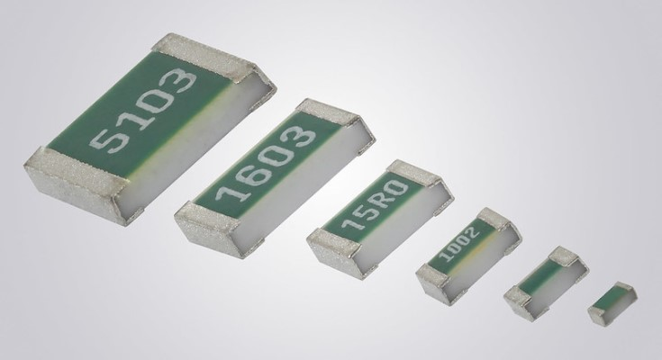 Vishay Intertechnology Extends TNPW e3 Series of High Stability Thin Film Flat Chip Resistors