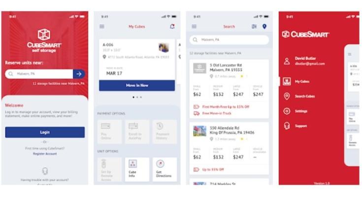CubeSmart Launches Mobile App