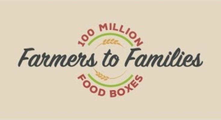 Farmers to Families Food Box Program Surpasses 100 Million Boxes Delivered