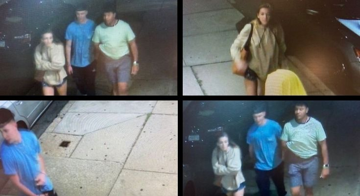 Police Seeking ID of Three Subjects in Assault Investigation