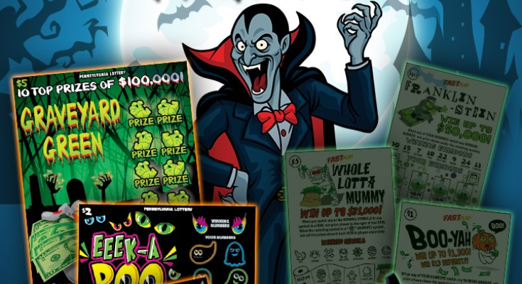 Pennsylvania Lottery's Count de Money Second-Chance Drawing Opens Offering a Total of $360,000 in Prizes