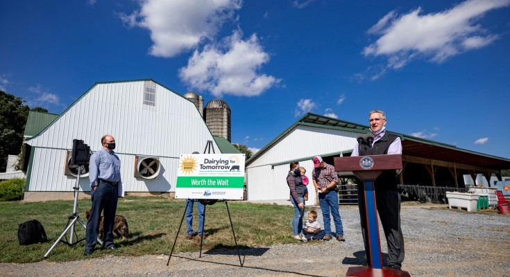 State Agriculture Department, EPA Formalize Joint Support for Healthy Farms, Clean Water, Future Food Security