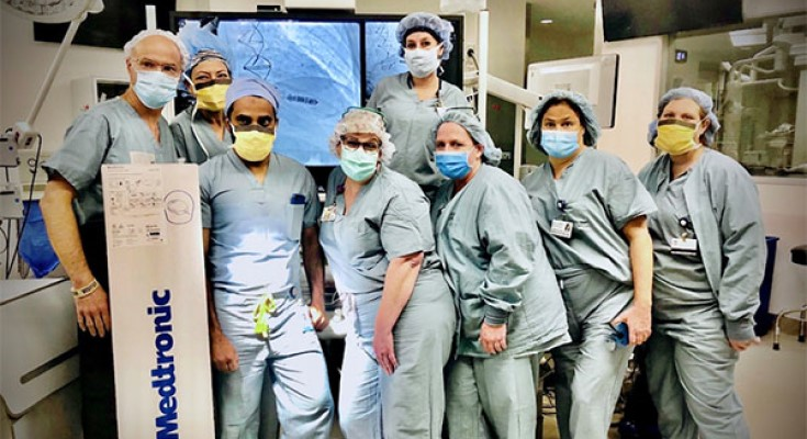 Dr. Amanulla Khaji Implants First Medtronic MICRA AV Leadless Pacemaker at Chester County Hospital