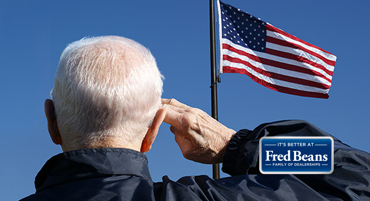 Fred Beans Offers free Oil Change, Other Discounts to Veterans on November 11