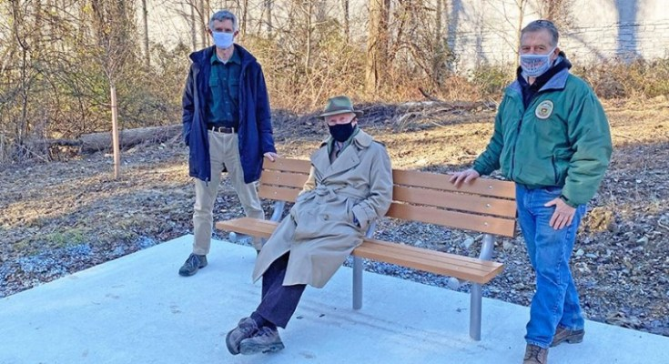 Chester County Honors Bob O'Leary, Chester Valley Trail Champion