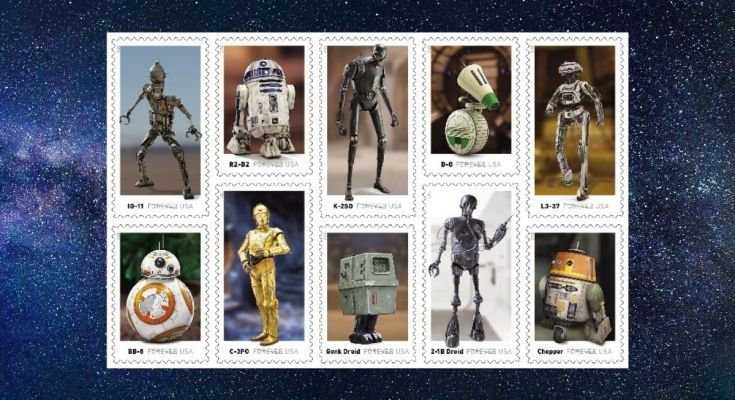 New 'Star Wars' Stamps Are Coming in Spring