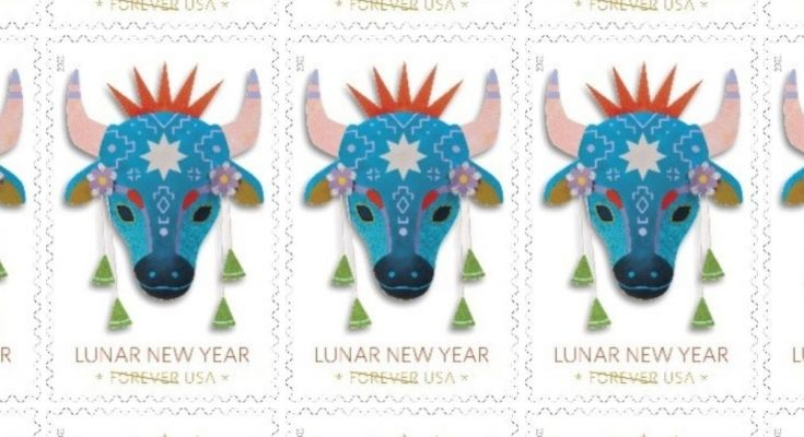 Year of the Ox Stamp