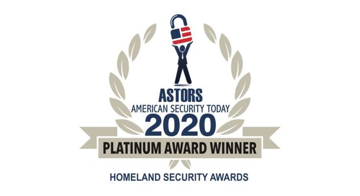 ASTORS Homeland Security Award