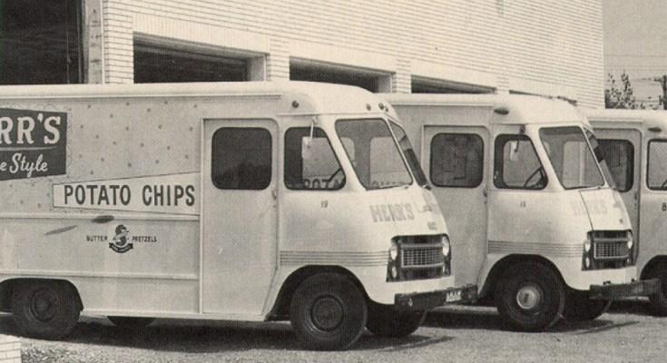 Herr's Vintage Chip Trucks
