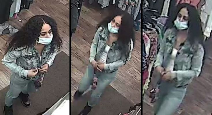 female theft suspect