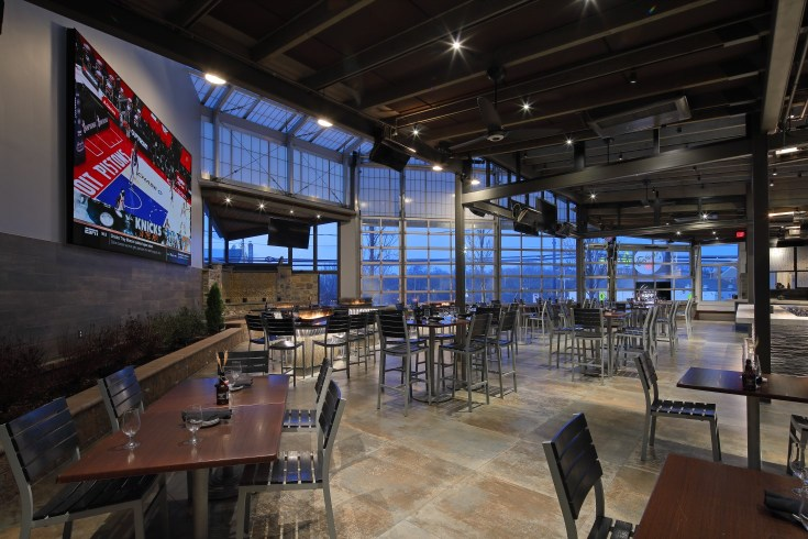 Taphouse 23's expanded patio