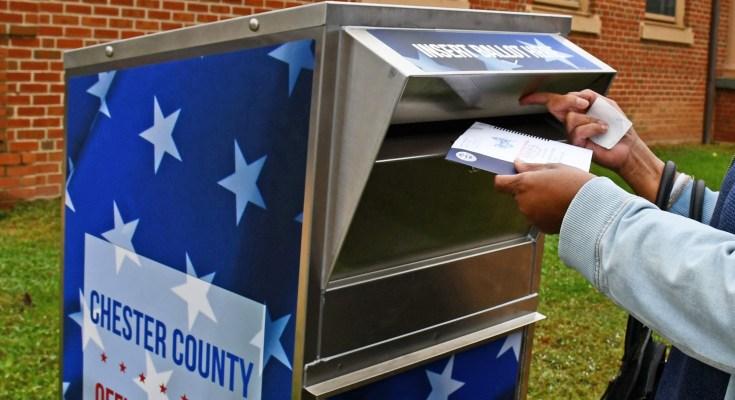 Chester County Ballot Drop Box