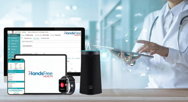 HandsFree Health Remote Patient Monitoring