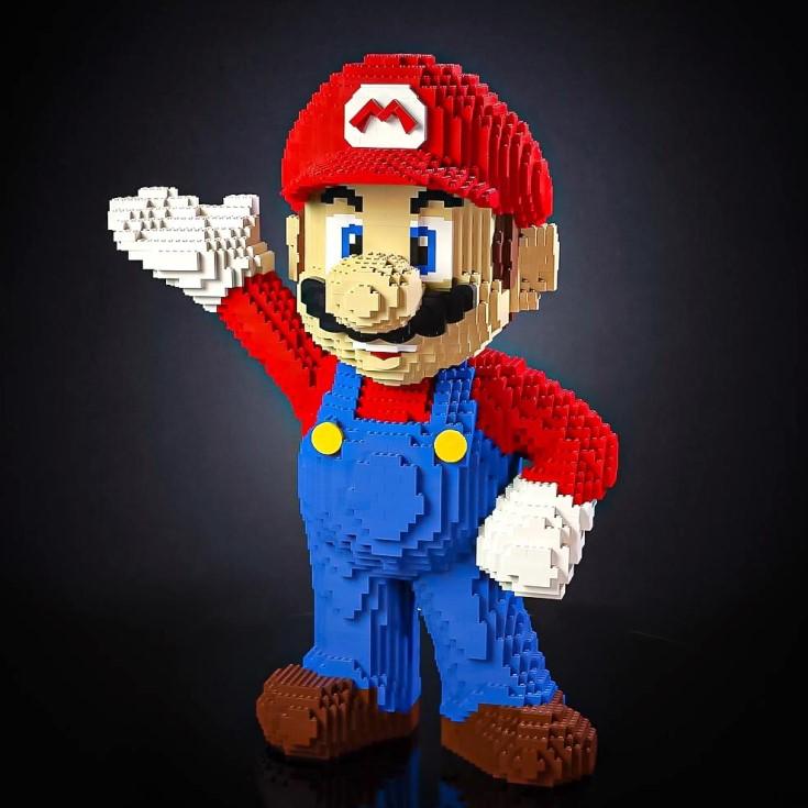 LEGO Mario Life-Sized