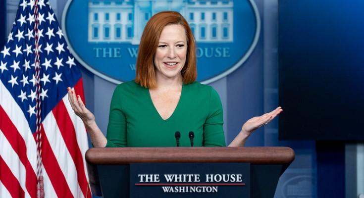Press Secretary Jen Psaki