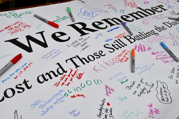 We Remember Banner
