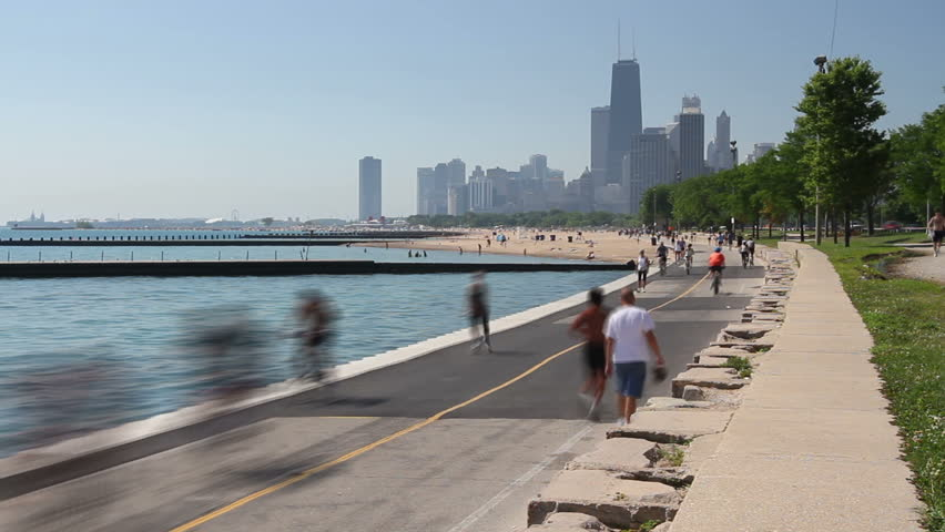 Image result for chicago lakefront trail
