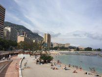 The beautiful beaches of Monaco