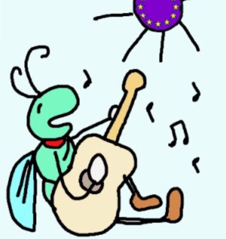 Come le cicale! / Like the cicadas