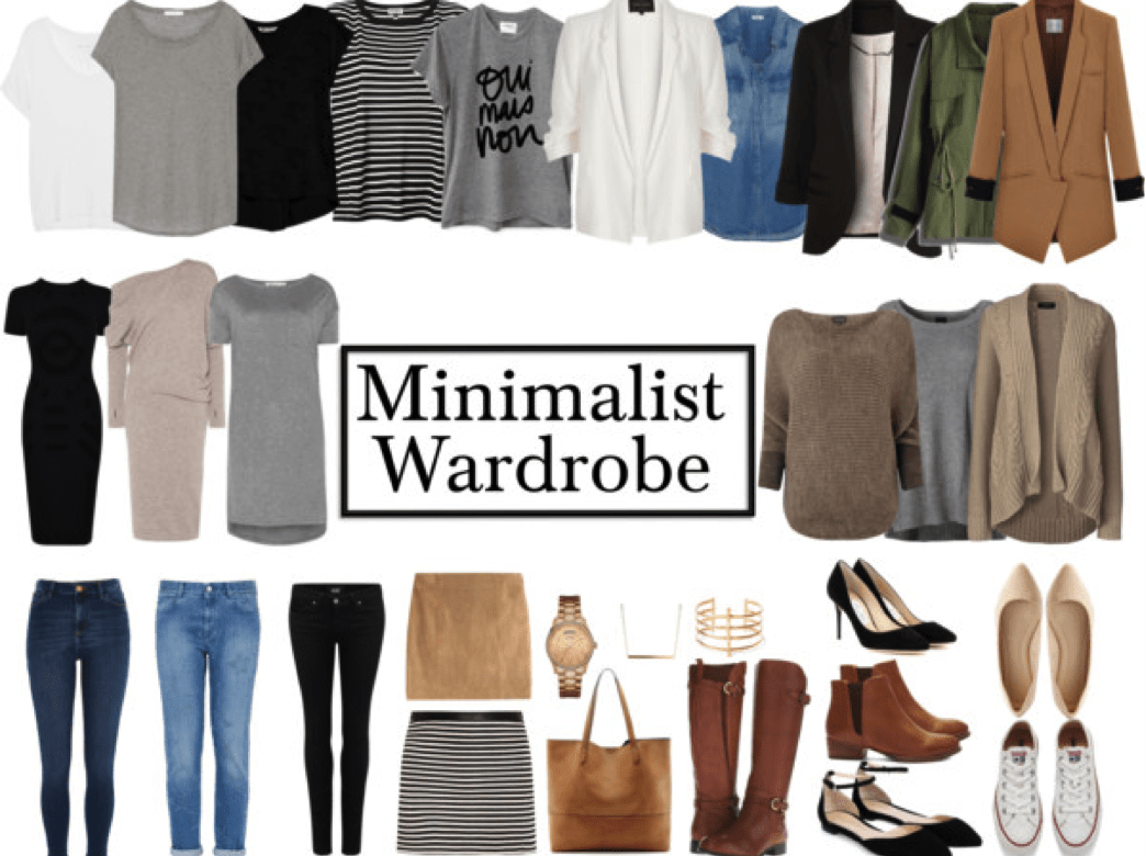 How to make a minimalist wardrobe my chic obsession for What is a minimalist