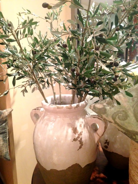olive tree home decor