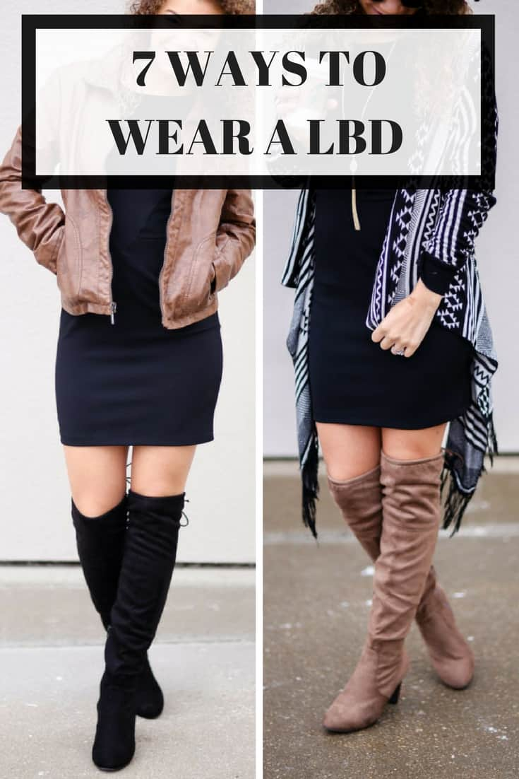 how to wear a LBD