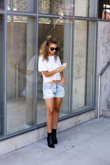 summer cutoff shorts