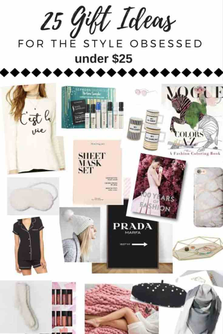 holiday gift guide fashion lover