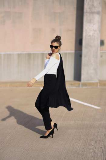 chic sunglasses outfit