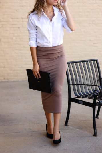 tailored outfit