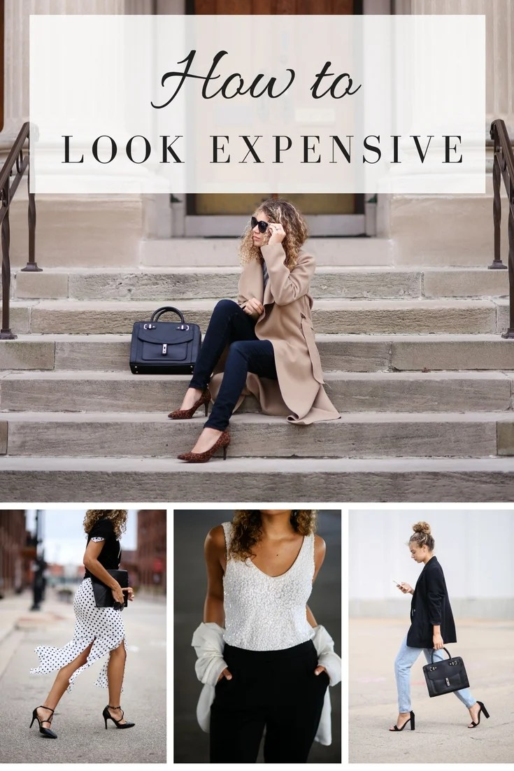 how to look expensive tips