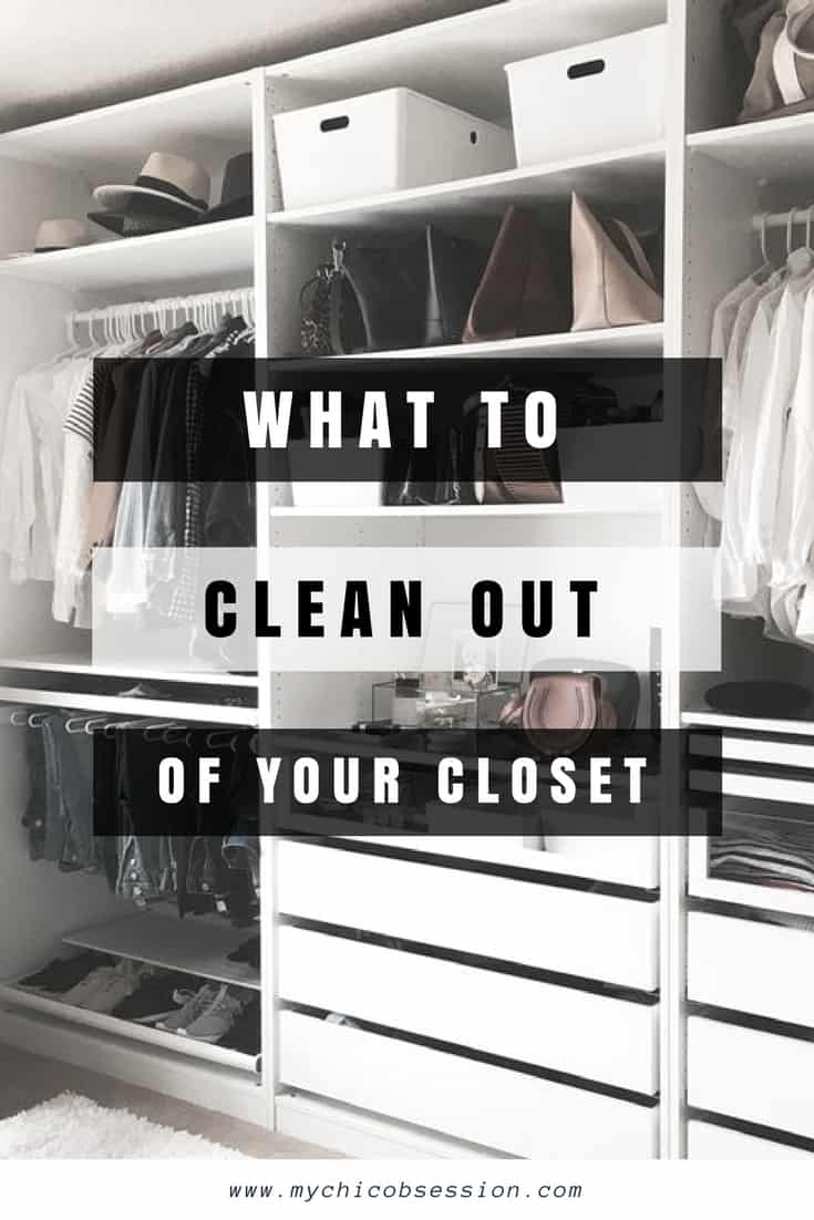 what to clean out of your closet