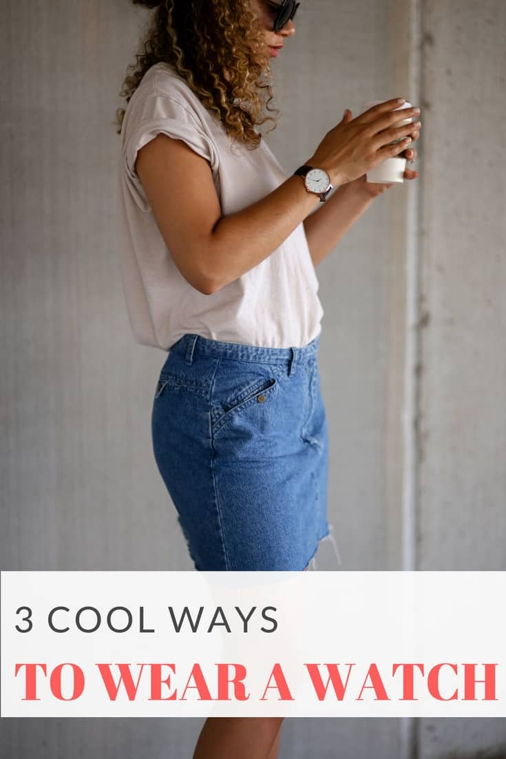 ways to wear a watch