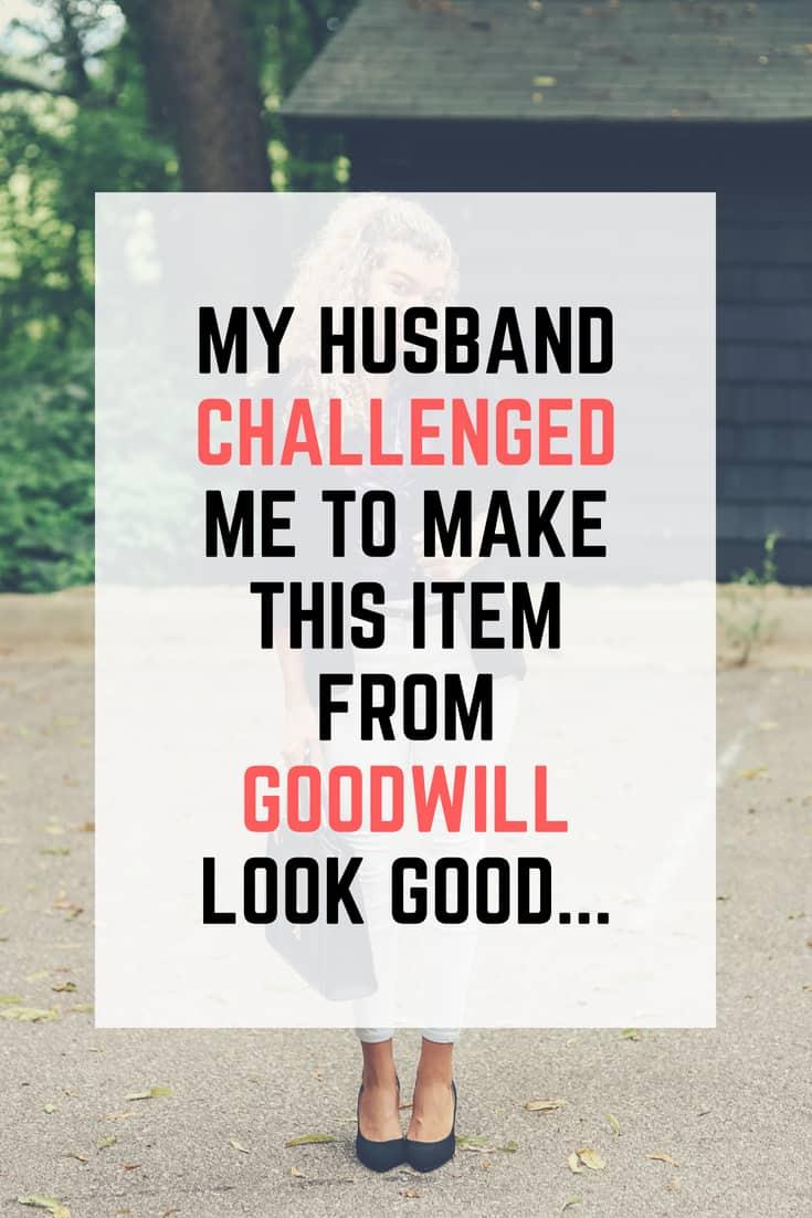 goodwill challenge