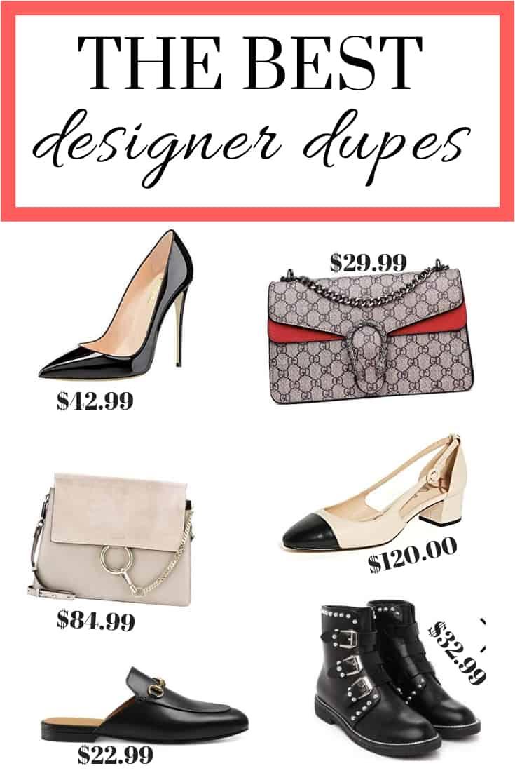 best designer dupes