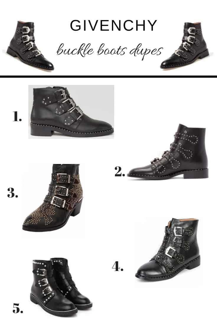 givenchy boots designer dupes