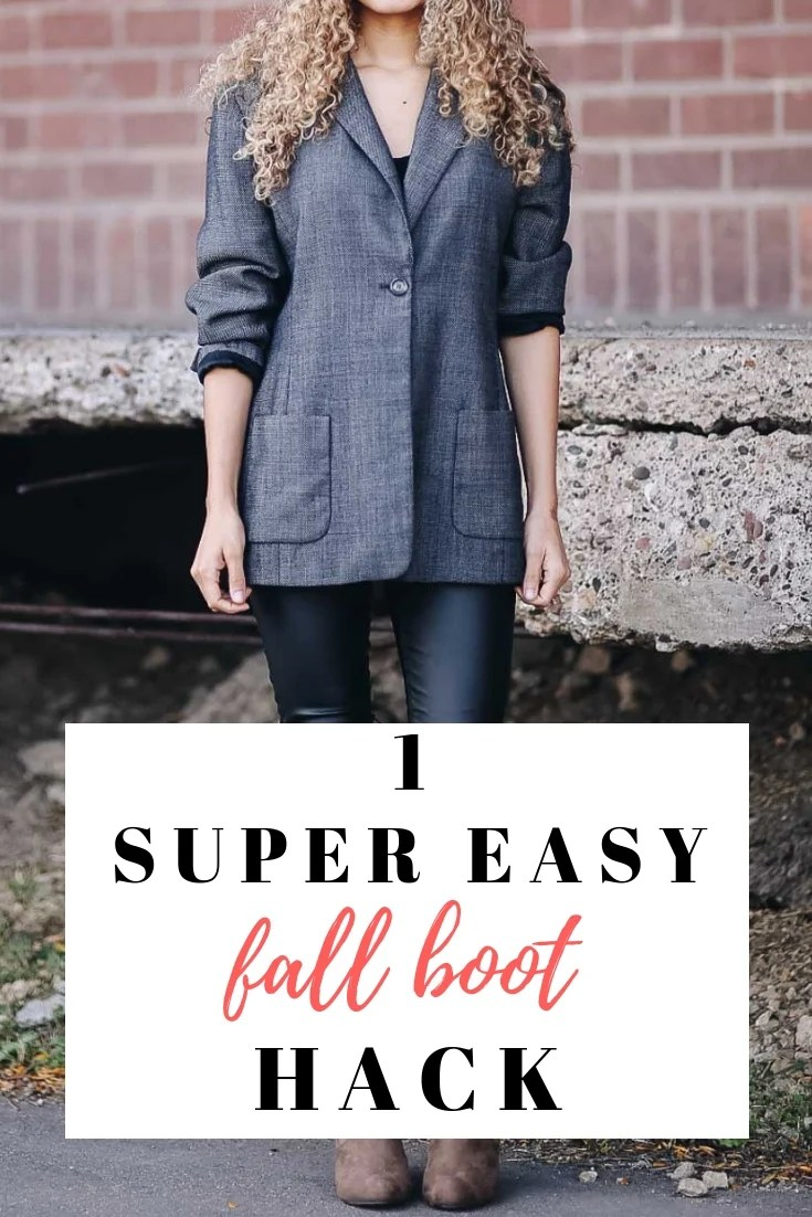 fall boot hack