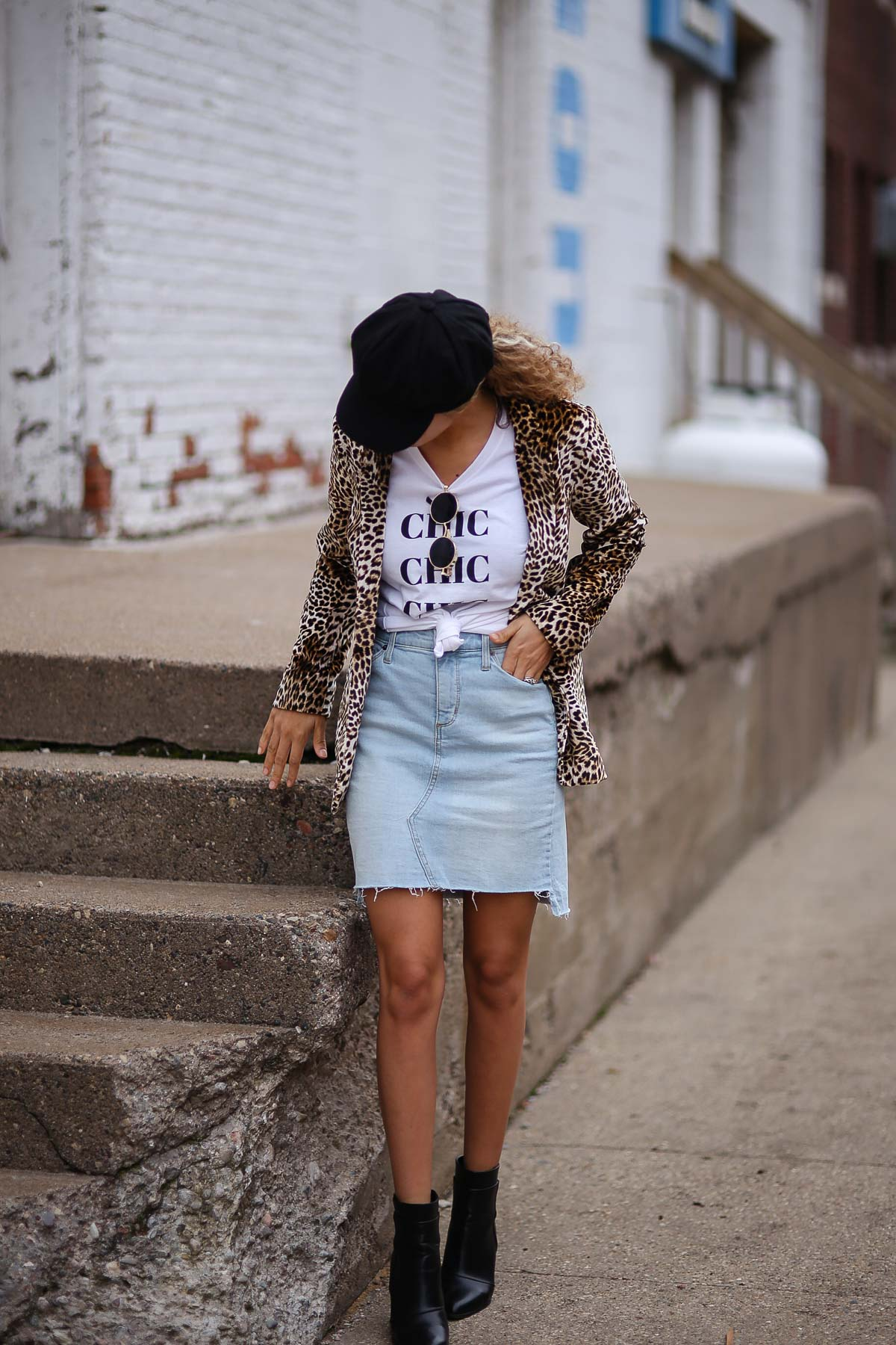 Carolyn of My Chic Obsession shows you 3 ways to wear a graphic tee