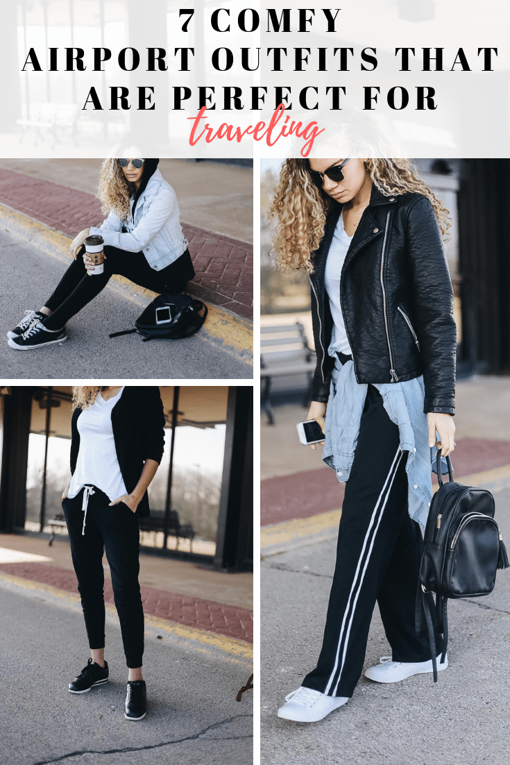 7 comfy airport outfits that are perfect for traveling in!