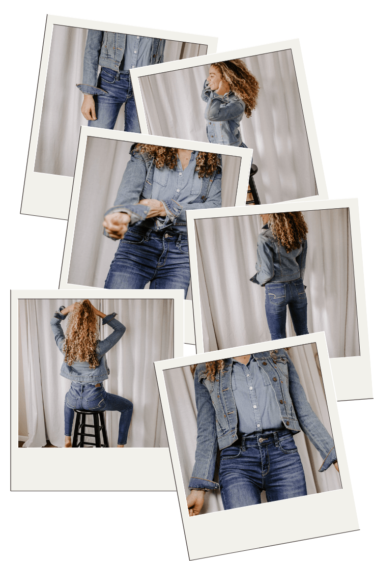 Here are new denim outfits that are classic, yet simple!