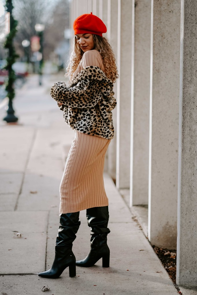 heeled boots outfit
