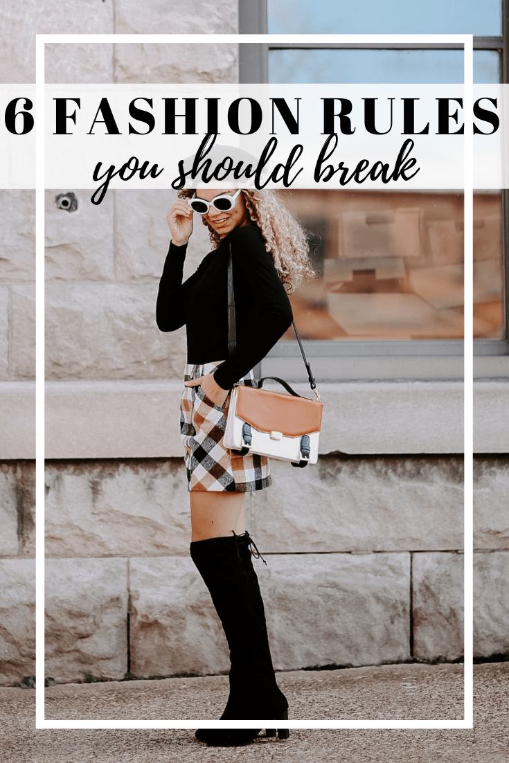 fashion rules you should break