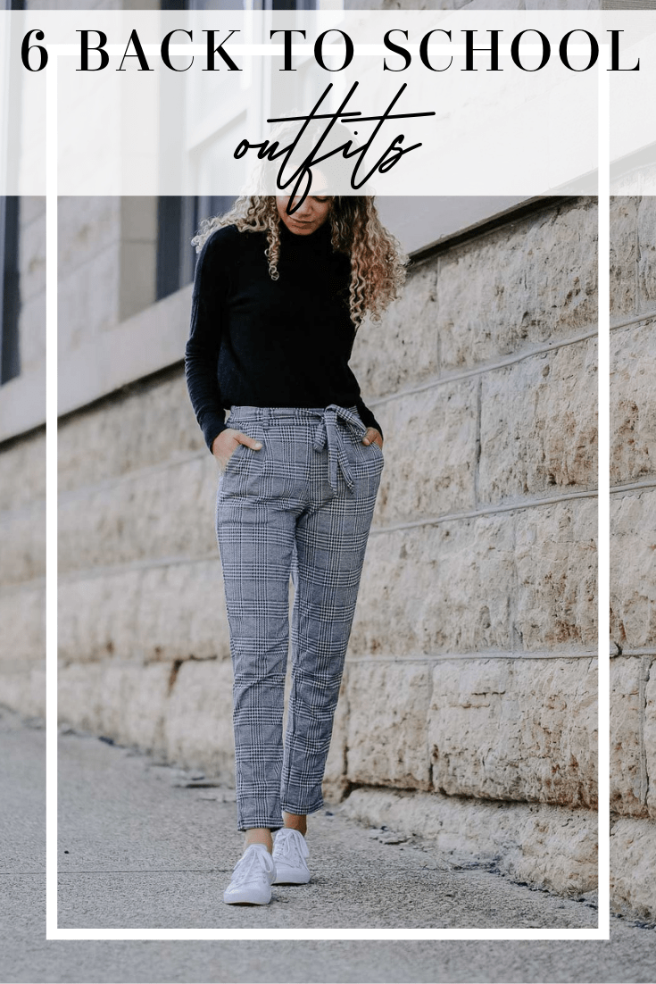 6 back to school outfits
