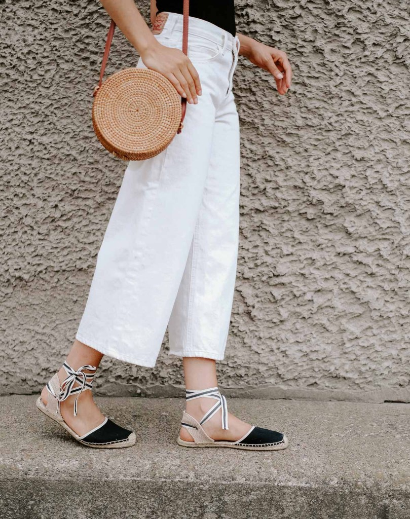 parisian chic summer outfit