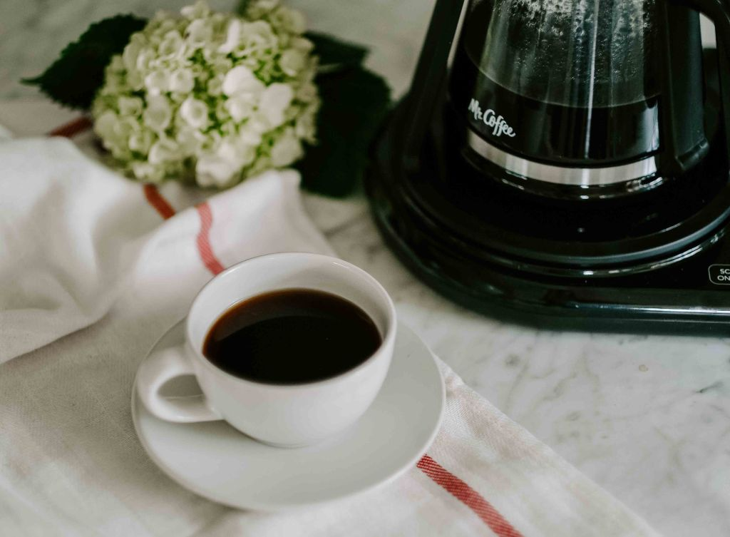 Mr. Coffee at home pour over