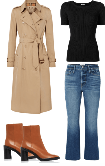 parisian chic fall outfit