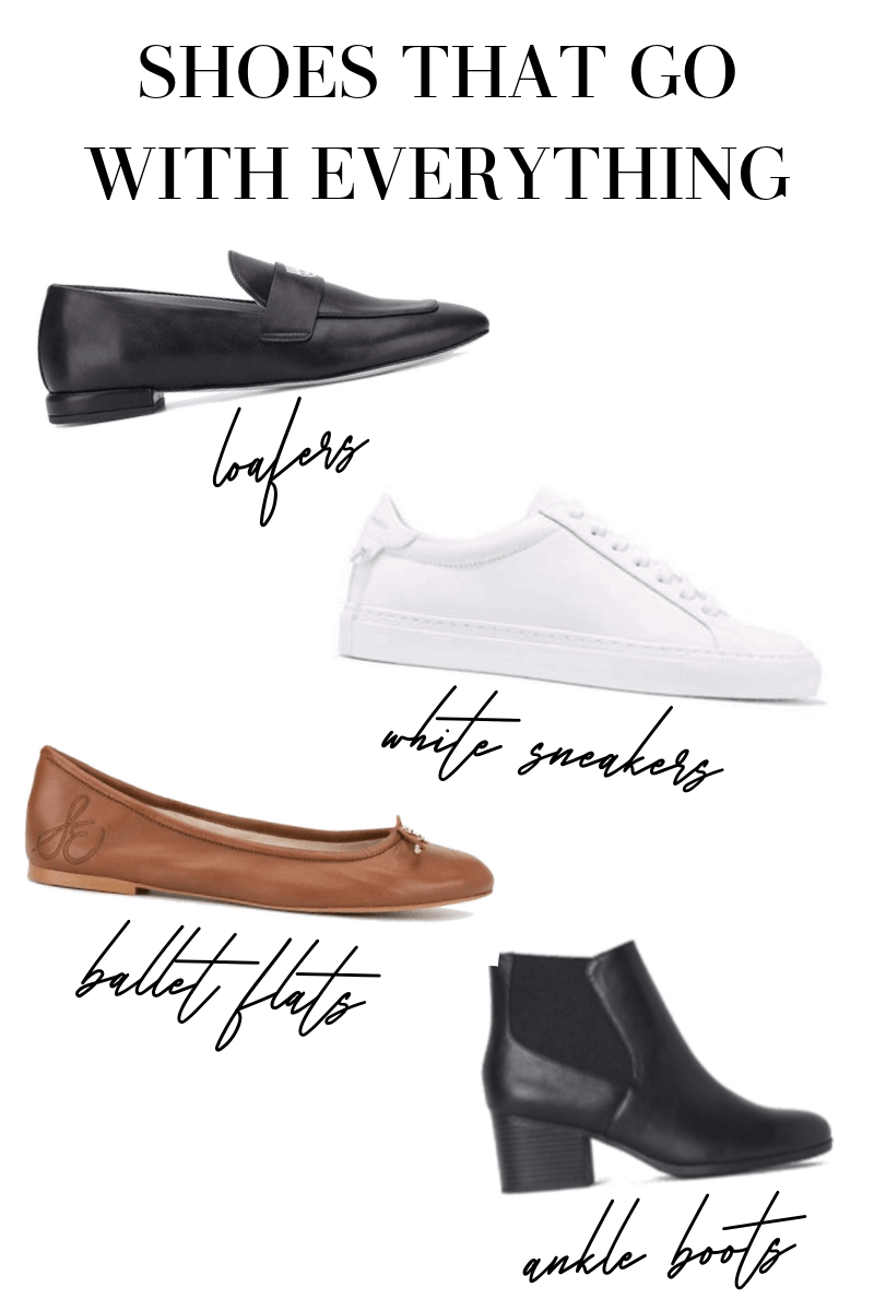 cute shoes that go with everything