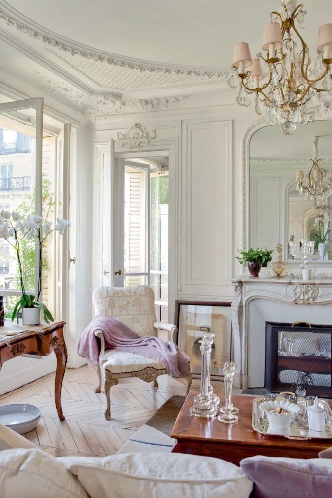 parisian interior decor